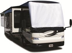 Adco Windshield Cover for Class A Motorhome - Tyvek