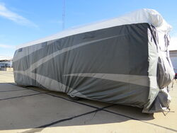 Adco RV Cover w/ Tyre Gards for Class A RV - All-Climate + Wind - Tyvek - 37' Long