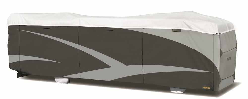 290-34827 - Gray and White Adco RV Covers