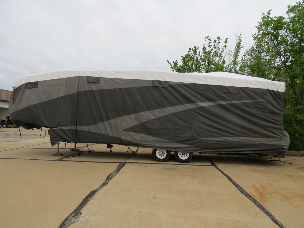 RV Covers 290-34857 - Gray and White - Adco