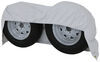 """Adco Tyre Gard RV Wheel Cover - Double Axle - 30"""" to 32"""" Diameter - Vinyl - White - Qty 1 30 Inch Tires,31 Inch Tires,32 Inch Tires 290-3922"""