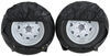 "Adco Ultra Tyre Gard RV Wheel Covers - Single Axle - 18"" to 22"" - Vinyl - Black - Qty 2 Black 290-3975"