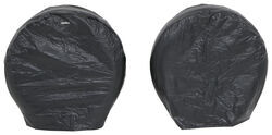 "Adco Ultra Tyre Gard RV Wheel Covers - Single Axle - 27"" to 29"" - Vinyl - Black - Qty 2"