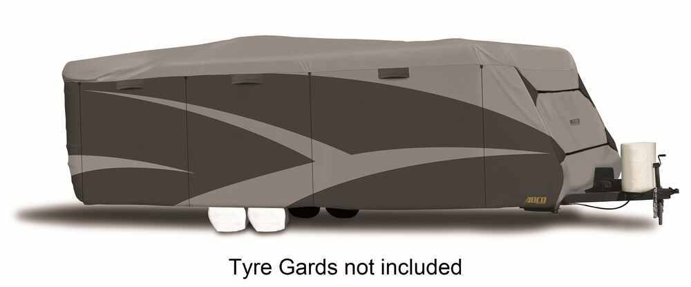 Adco SFS AquaShed Cover for Travel Trailer - Up to 26' Long - Gray Travel Trailer Cover,Toy Hauler Cover 290-52243