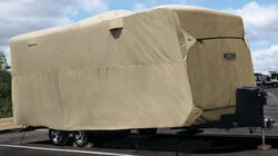"Adco Storage Lot Cover for Travel Trailer - 26'1"" to 28'6"" - Polypropylene - Tan"
