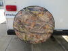 "Adco Spare Tire Cover - 28"" Diameter - Thermoplastic Polymer - Camouflage Camouflage 290-8756"