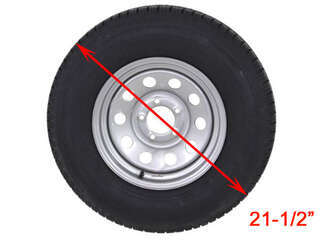 Adco Tire Cover diameter