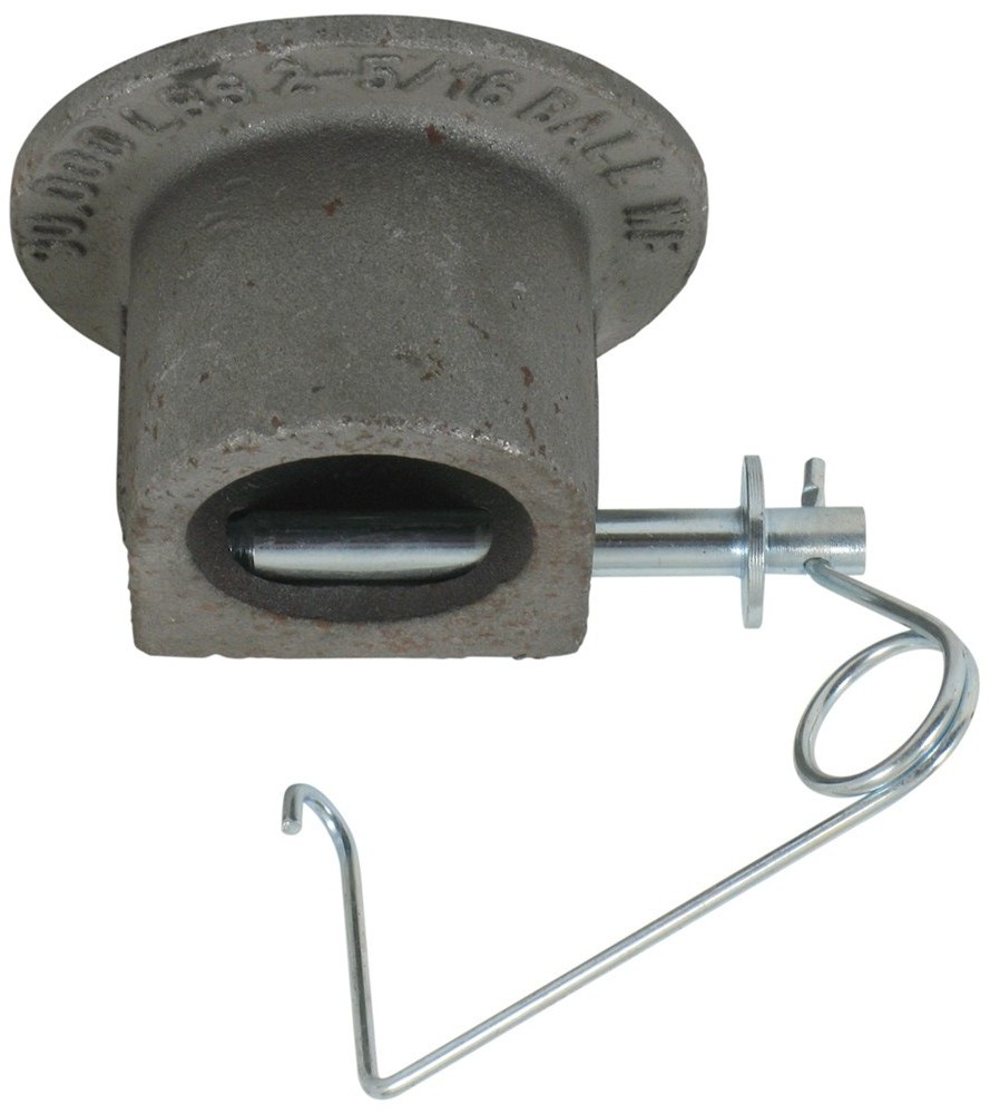 """2-5/16"""" Gooseneck Coupler Head with 1/2"""" Lock Pin, 30,000 lbs. 2-5/16 Inch Gooseneck Ball 291300"""