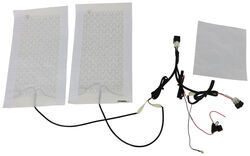 AAMP Universal Heat Seat Kit - 2 Heating Surfaces - 2 Function Switch