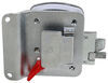 global link rv locks entry door lock locking latch kit with keyed alike option - polished chrome