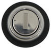 "Replacement Cam Lock Cylinder for RVs - Keyed Alike Option - Stainless Steel - 1-3/8"" Long 295-000005"