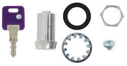 Replacement Cam Lock Cylinder for RVs - Keyed Alike Option - Stainless  Steel - 1-1/8