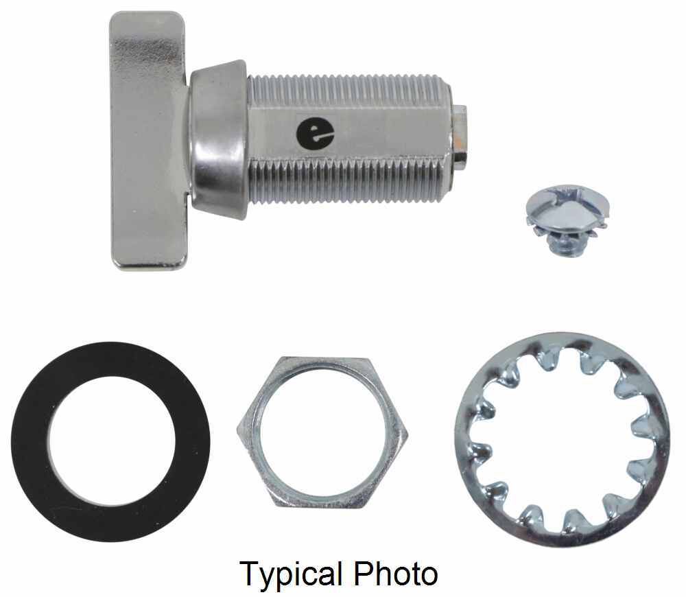 "Replacement Thumb Turn Cam Latch Cylinder - Stainless Steel - 1-1/8"" Long 295-000012"