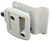 Global Link RV Entry Door Locking Latch Kit with Keyed Alike Option - White