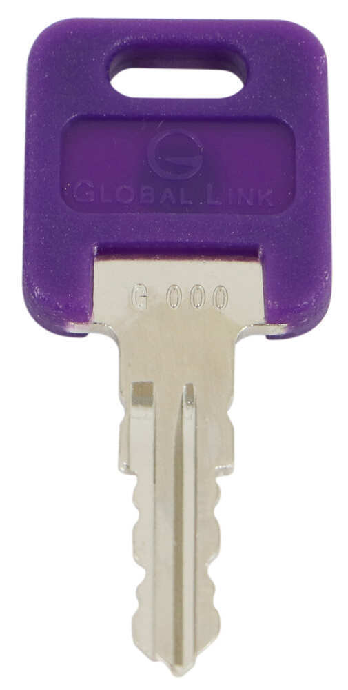 Replacement Key for Global Link RV Locks - 347 - Qty 1 Keys 295-000073