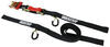 "ShockStrap Ratcheting Tie-Down Strap w/ Built-in Shock Absorber - 1-1/2"" x 15' - 1K - Qty 1 1 Strap 297-15RSBB"