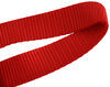 "ShockStrap Soft Ties for Motorcycles and Dirt Bikes - 1"" x 18"" - Red - 1,100 lbs - Qty 4 Soft Loops 297-2STR-2"