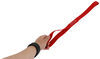"ShockStrap Soft Ties for Motorcycles and Dirt Bikes - 1"" x 18"" - Red - 1,100 lbs - Qty 4 1-1/2 Feet Long 297-2STR-2"