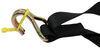 ShockStrap 1-1/8 - 2 Inch Wide Ratchet Straps - 297-9RSBB-2SLY-ATV