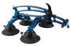 SeaSucker Komodo Trunk Bike Rack - Fork Mount - Vacuum Cup Mounted - Aqua Blue Locks Not Included 298-BK1910-AB