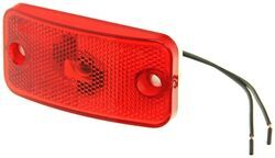Clearance Light #178 - Red with White Base