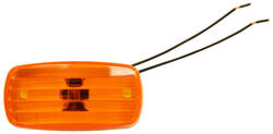 Bargman Clearance Light #58 Amber with White Base