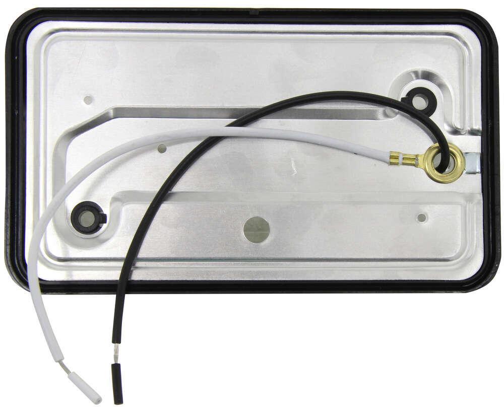 Bargman Rv Porch Utility Light 78 Series Rectangle