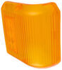 Replacement Lens for Bargman 86 Series Wraparound Clearance/Side Marker Lights - Amber Wraparound 30-86-712
