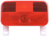 Bargman Trailer Tail Light - Stop, Tail, Turn, and License - Incandescent - Red Lens