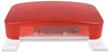 Bargman Tail Light w/ License Bracket - 5 Function - Incandescent - White Base - Red/Clear Lens 8-1/2L x 4-1/2W Inch 30-92-003