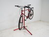 Feedback Sports Classic Bike Work Stand - Slide Lock Clamp - Aluminum - Red Anodize Red and Black 301-13982