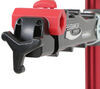 Feedback Sports Pro-Elite Bike Work Stand - Ratchet Clamp - Aluminum - Red Anodize Red and Black 301-16021