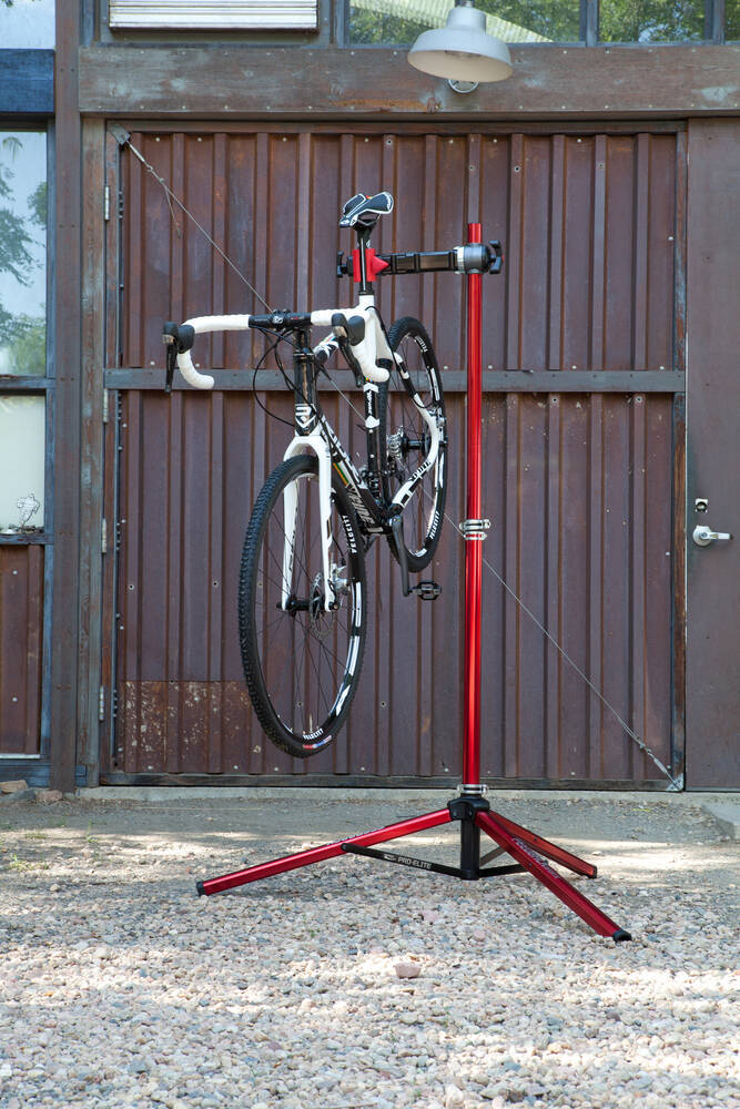 Feedback Sports Pro Elite Bike Work Stand W Tote Bag
