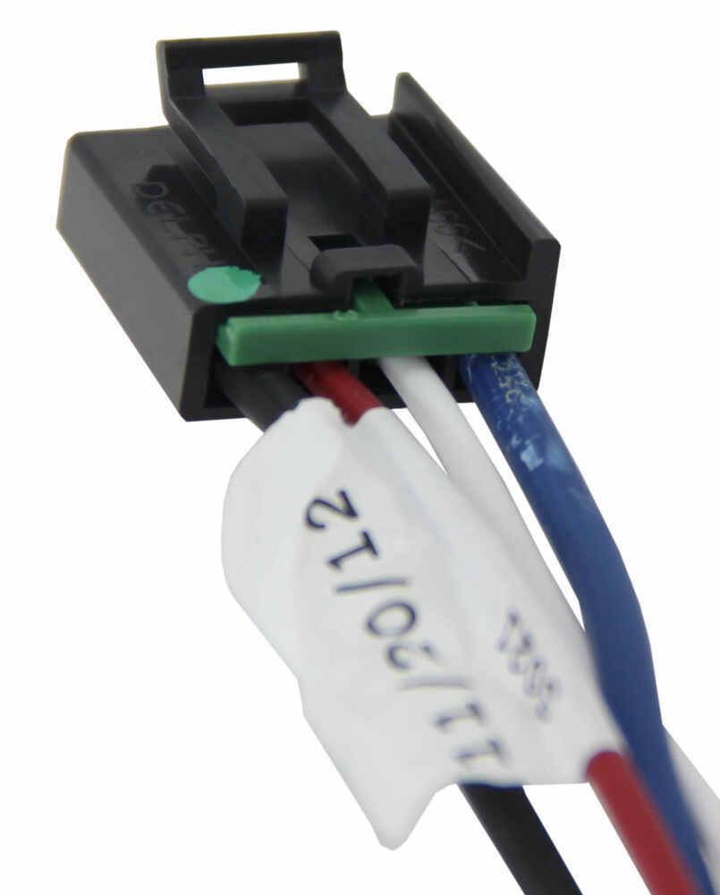 Compare Tekonsha Plug In Vs Brake Controller Wiring 3021 P Adapter