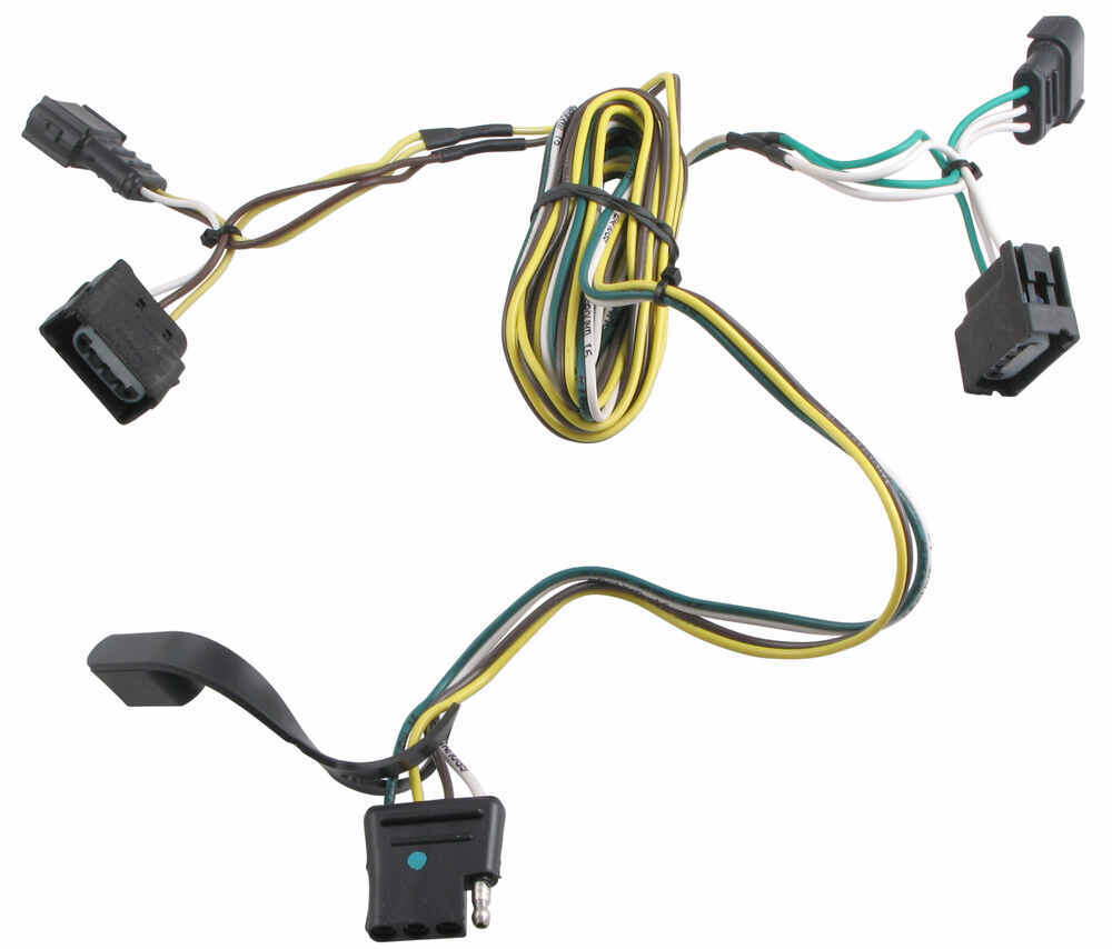 T Connector Wiring Harness Diagrams Draw Tite Valley Vehicle Custom Curt Trailer Harnesses