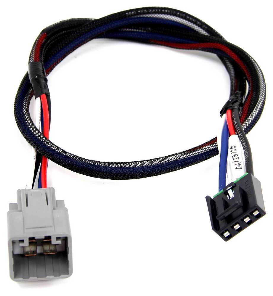 Tekonsha Brake Controller >> Tekonsha Plug-In Wiring Adapter for Electric Brake ...