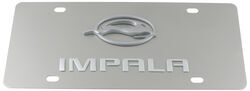 Stainless Steel License Plate Impala with Logo Chrome