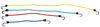 Master Lock 0 - 5 Feet Long Bungee Cords - 3044DAT