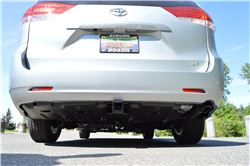EcoHitch 2012 Toyota Sienna Trailer Hitch