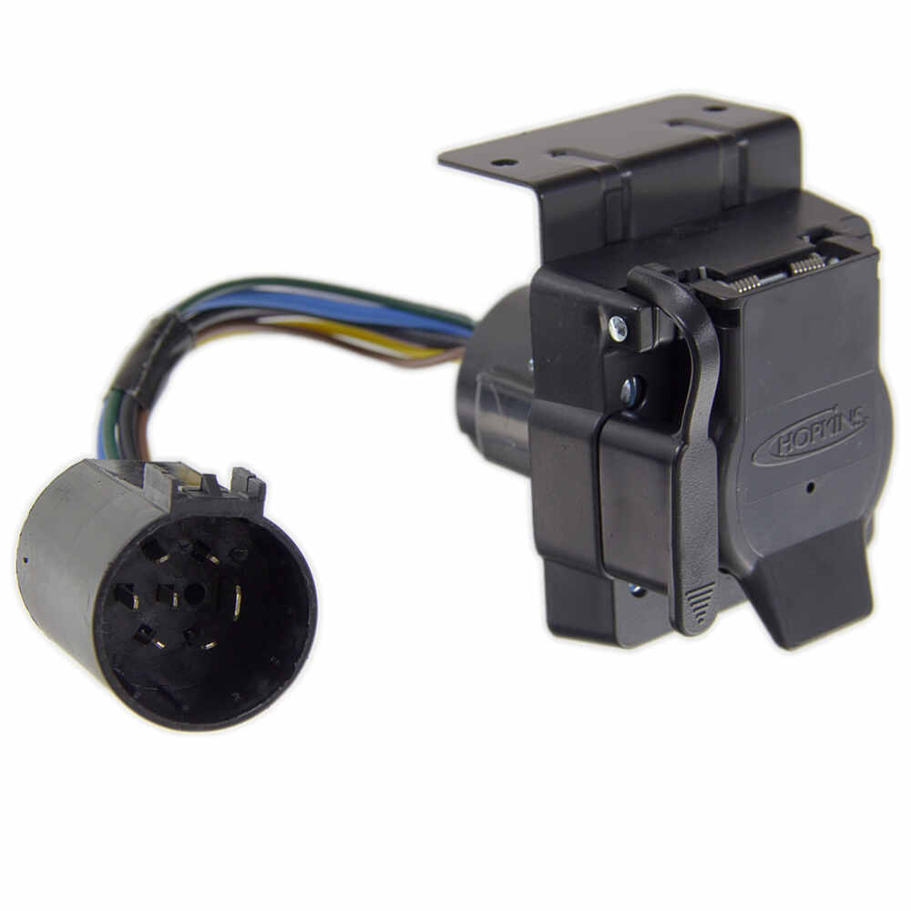 Replacement Custom Multi Tow 7 Way And 4 Trailer Connectors Wiring Outlet Plug Hopkins Fit Vehicle 30955