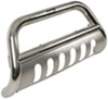 "Westin E-Series Bull Bar with Skid Plate - 3"" Tubing - Polished Stainless Steel"