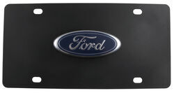 Ford Powered By Cobra Venom Chrome Plated Metal License Plate Frame Holder