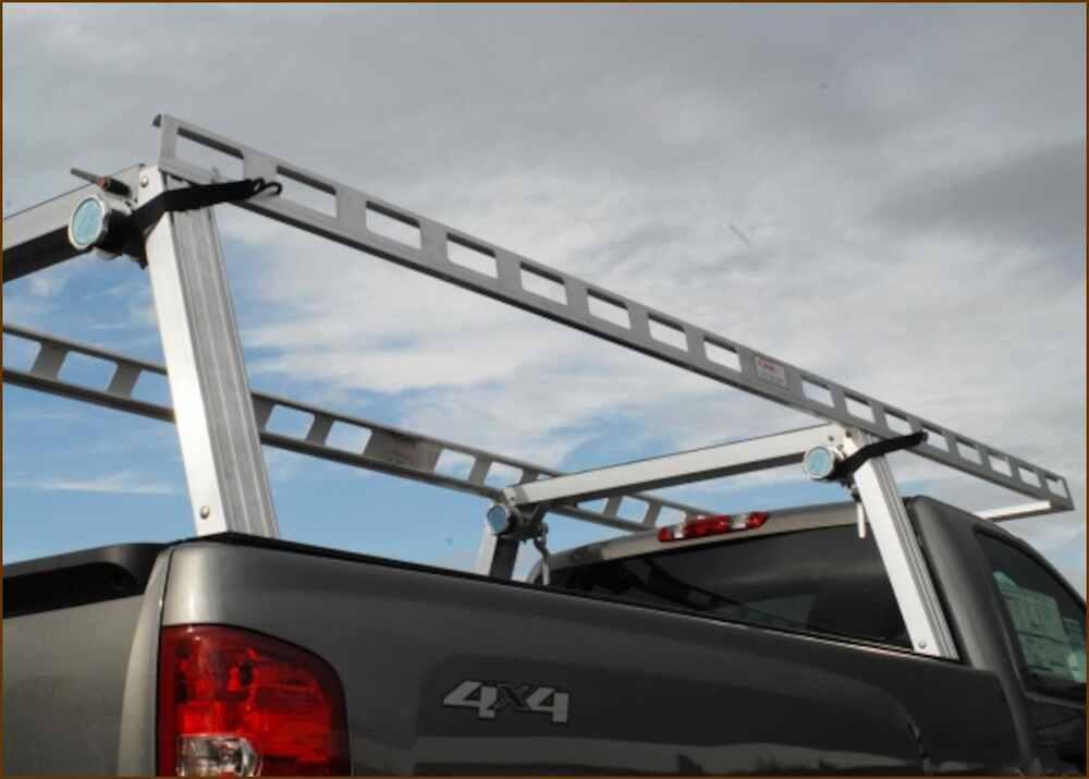 Truck Bed Kayak Rack >> Pace Edwards JackRabbit Retractable Tonneau Cover w Contractor Rig Rack - Aluminum and Vinyl ...