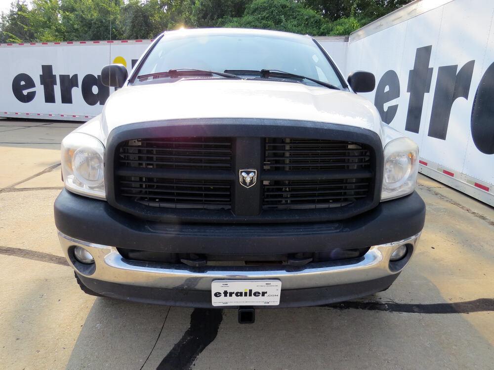 Front Mount Trailer Hitch Installation 2007 Dodge Ram