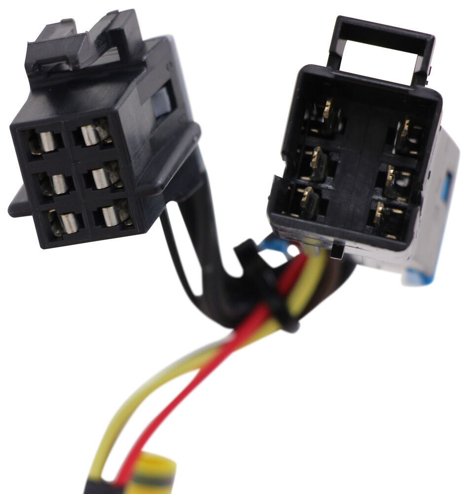 Compare T One Vehicle Wiring Vs Hopkins Plug In Etrailercom Simple Harness With 4 Pole Trailer Custom Fit 31345 Flat