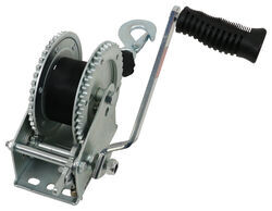 Single-Speed Boat Trailer Winch with 20' Strap and Brake - 2,000 lbs