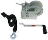 2-Speed Boat Trailer Winch with 20' Strap - 2,500 lbs Polyester Strap 315-W2500D