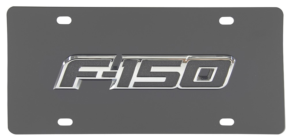 Compare License Plate F150 vs | etrailer.com
