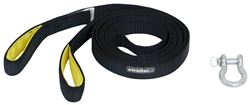 ProGrip ATV Tow Strap w/ Shackle - 12' Long