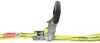 progrip ratchet straps trailer truck bed double-j hooks reversible tie-down strap - 1-1/2 inch x 20' 1 666 lbs